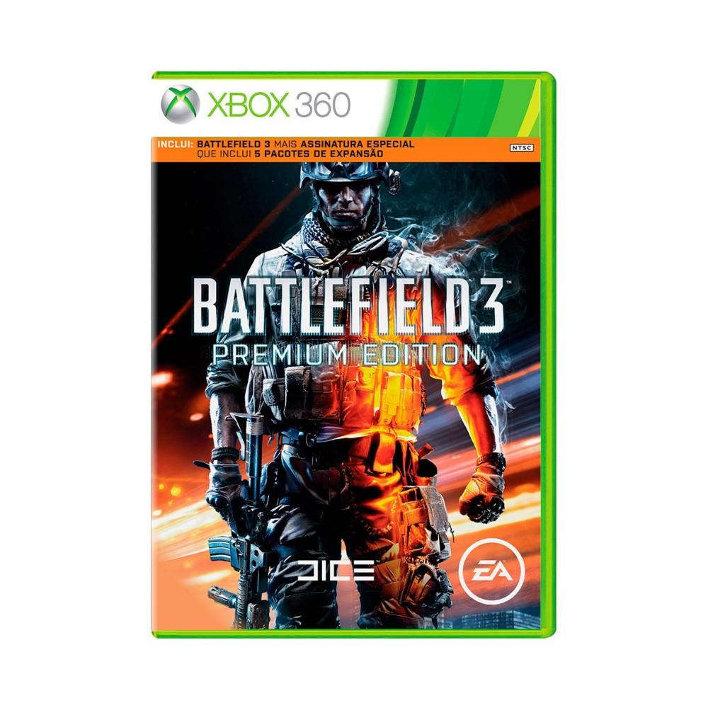Jogo Battlefield 3 Premium Edition - Xbox 360