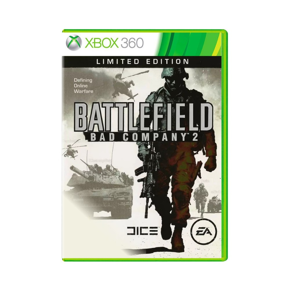 Jogo Battlefield Bad Company 2 - Xbox 360