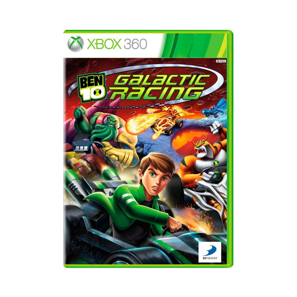 Jogo Ben 10 Galactic Racing - Xbox 360