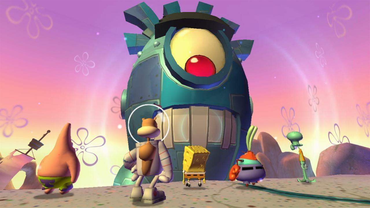 Jogo Bob Esponja Calça Quadrada: A Vingança Robótica do Plâncton - Xbox 360