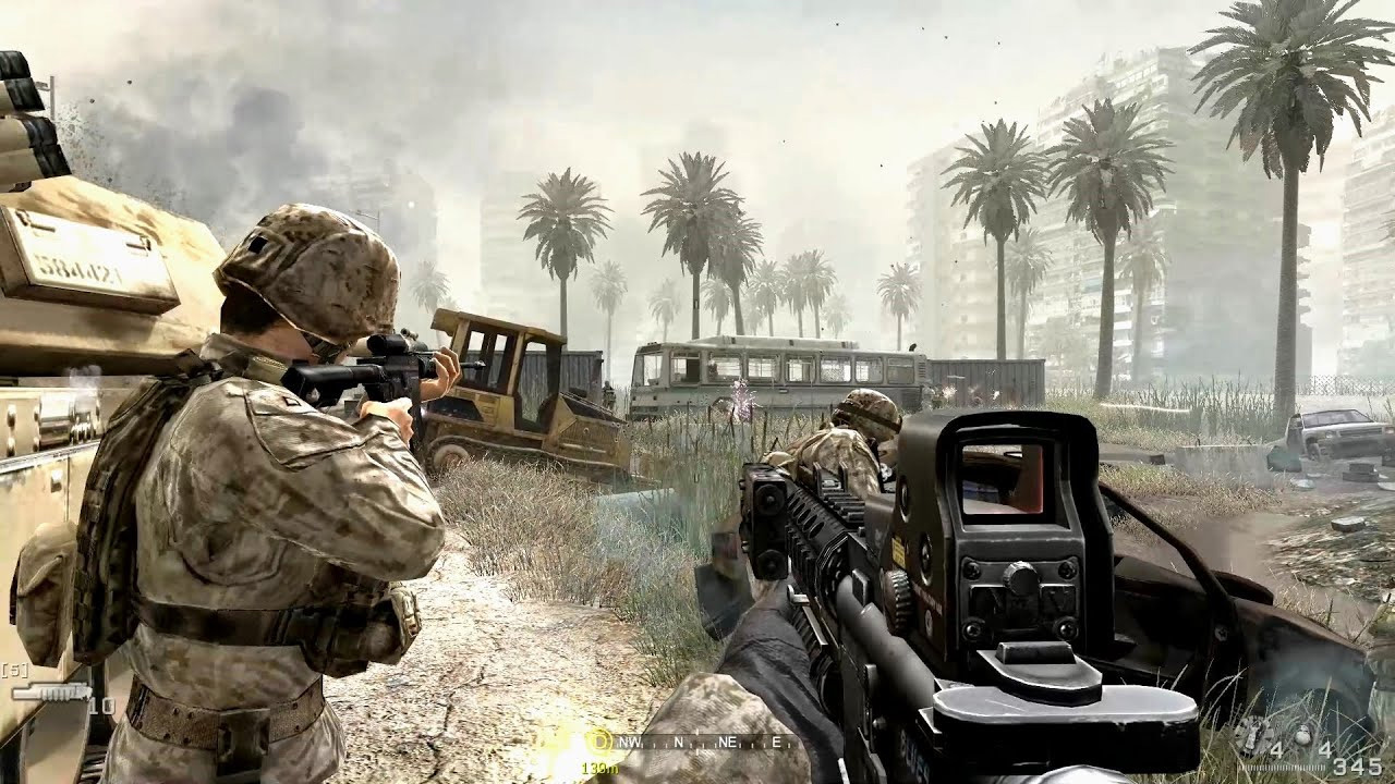 Jogo Call of Duty Modern Warfare 4 Greatest Hits - PS3