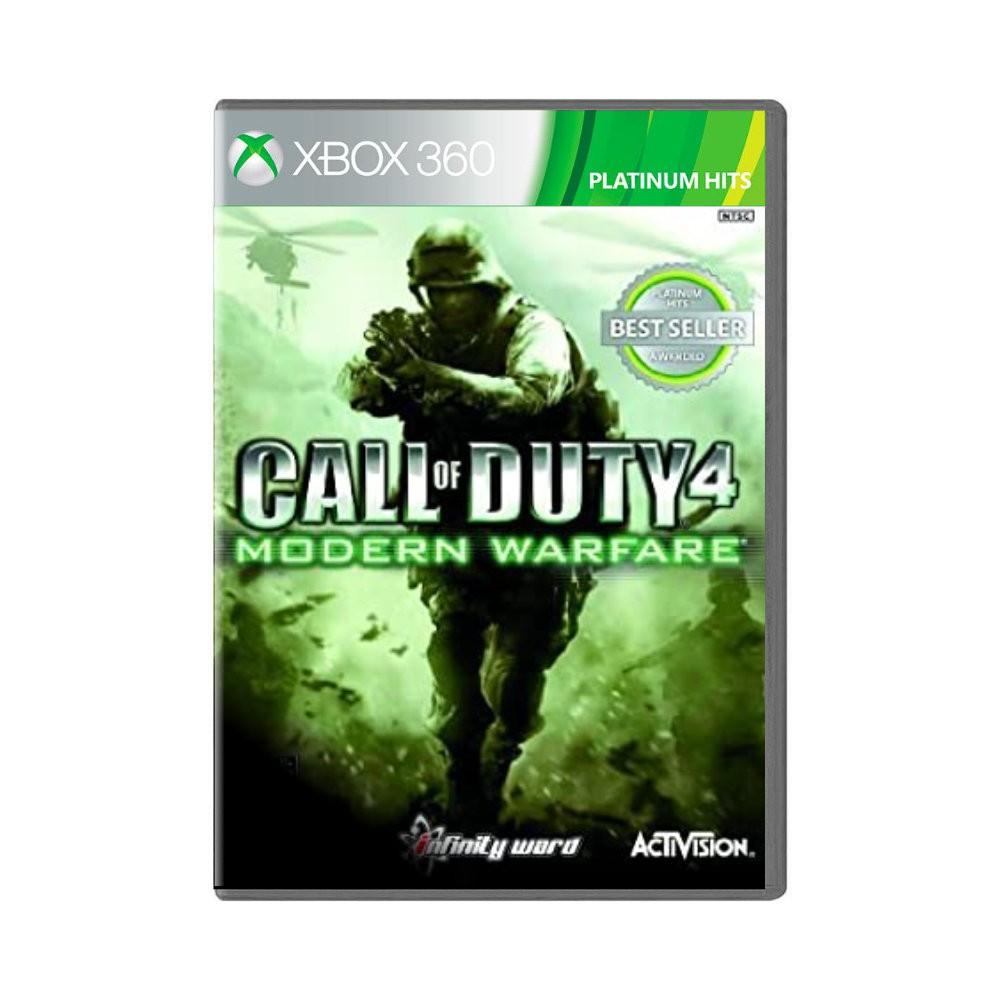 Jogo Call of Duty 4: Modern Warfare Platinium Hits - Xbox 360