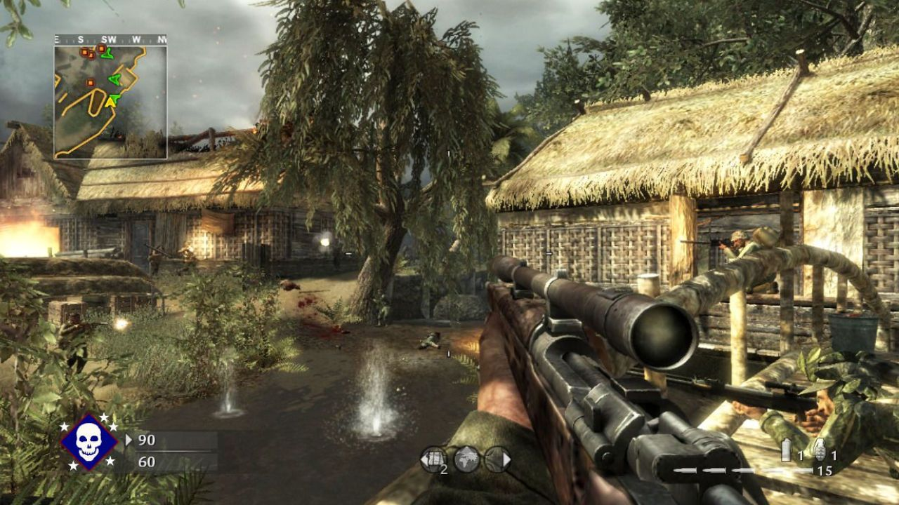 Jogo Call of Duty World at War - Xbox 360