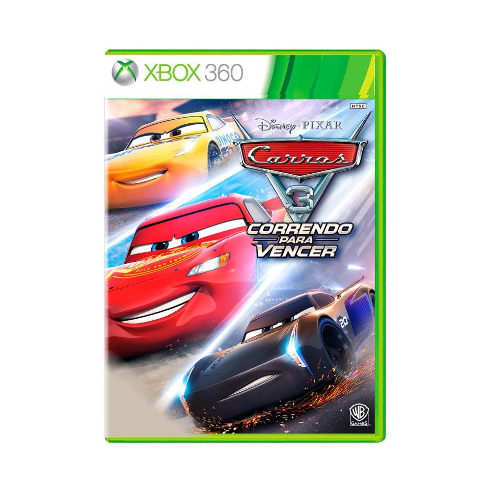 Jogo Carros 3 - Xbox 360