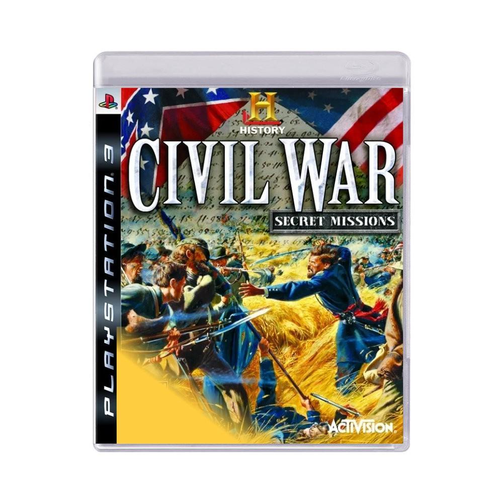 Jogo Civil War Secret Missions - PS3