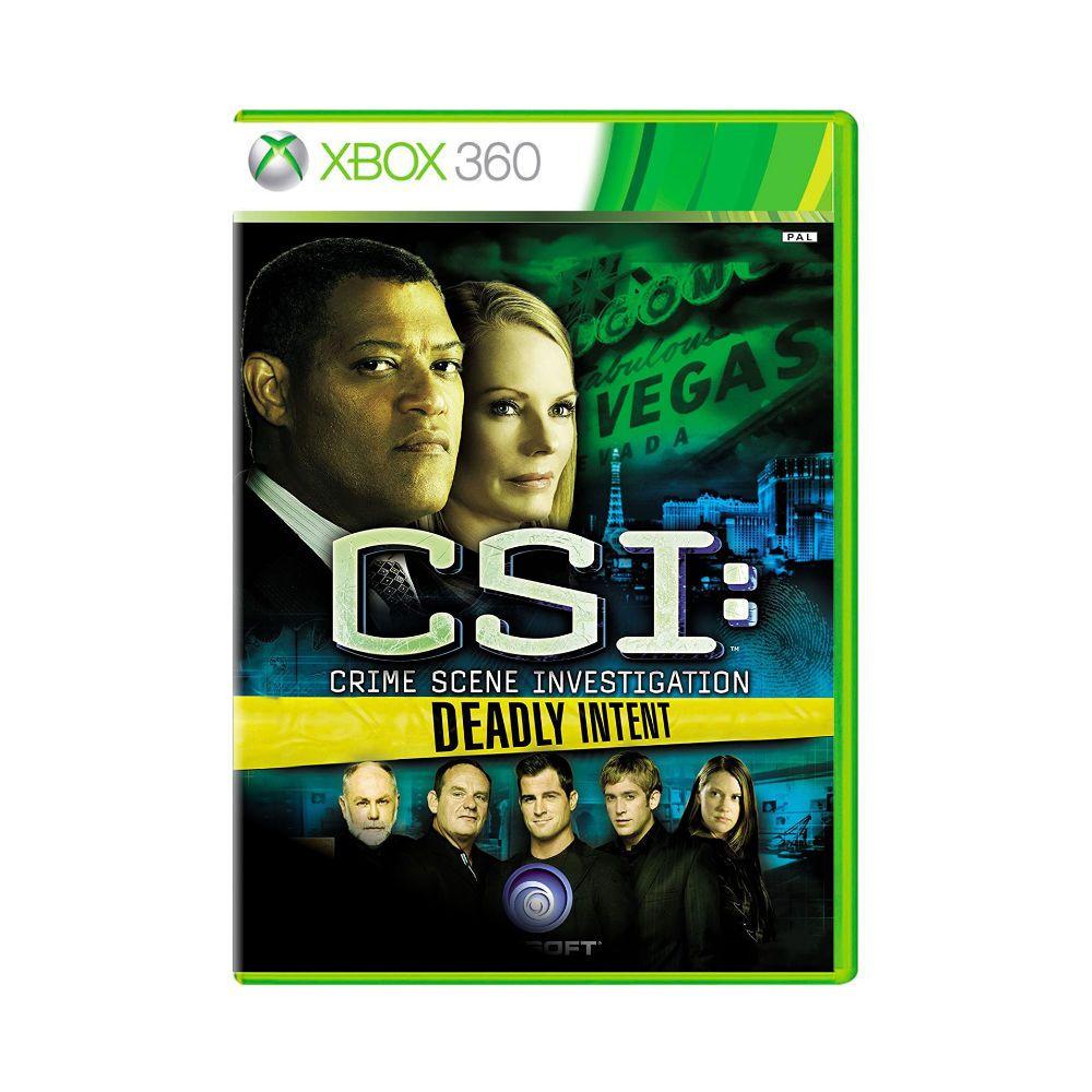 Jogo CSI: Crime Scene Investigation - Xbox 360