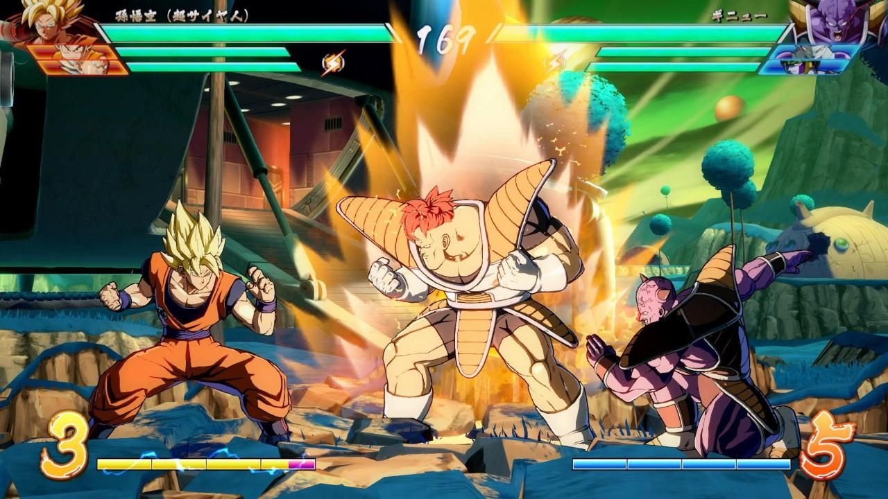 Jogo Dragon Ball FighterZ - PS4
