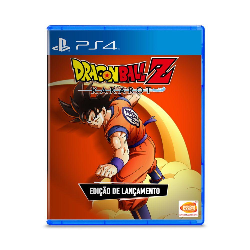 Jogo Dragon Ball Z Kakarot - PS4