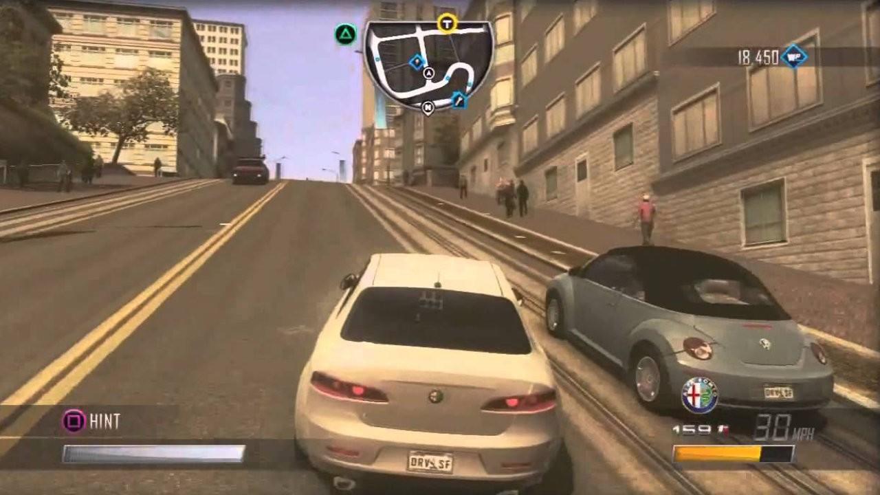 Jogo Driver San Francisco - PS3