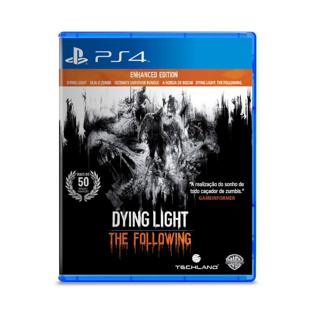 Jogo Dying Light The Following - PS4