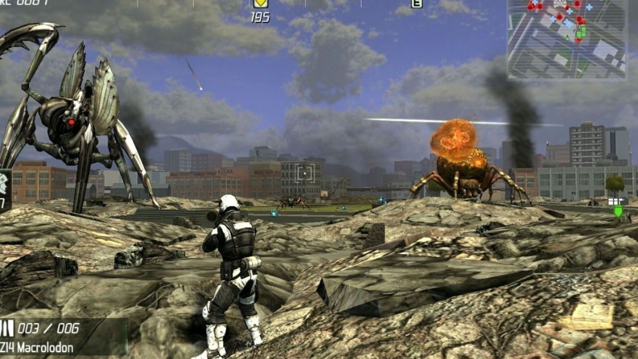 Jogo Earth Defense Force Insect Armageddon - Xbox 360