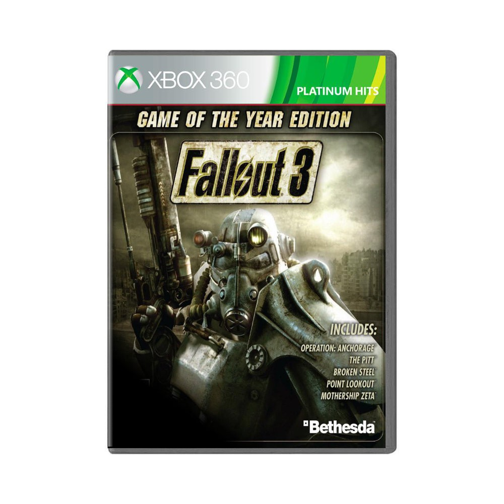 Jogo Fallout 3 Game of the Year Edition - Xbox 360