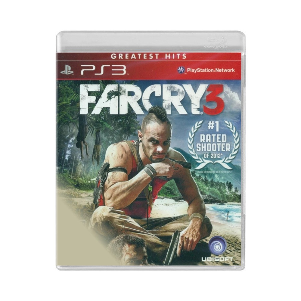 Jogo Far Cry 3 Greatest Hits - PS3