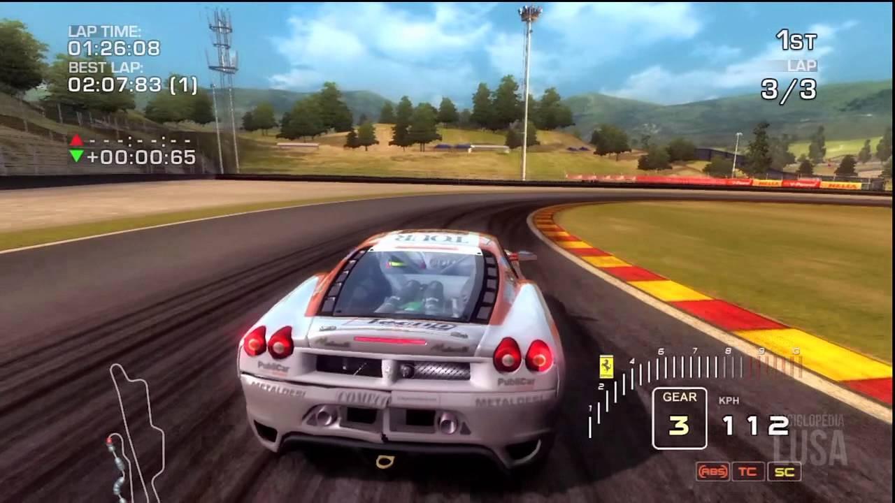 Jogo Ferrari Challenge Trofeo Pirelli - PS3