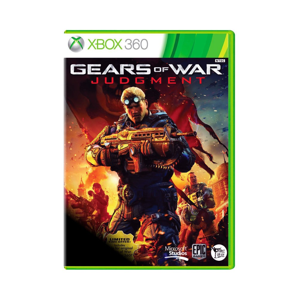 Jogo Gears of War Judgement - Xbox 360 - EUROPEU