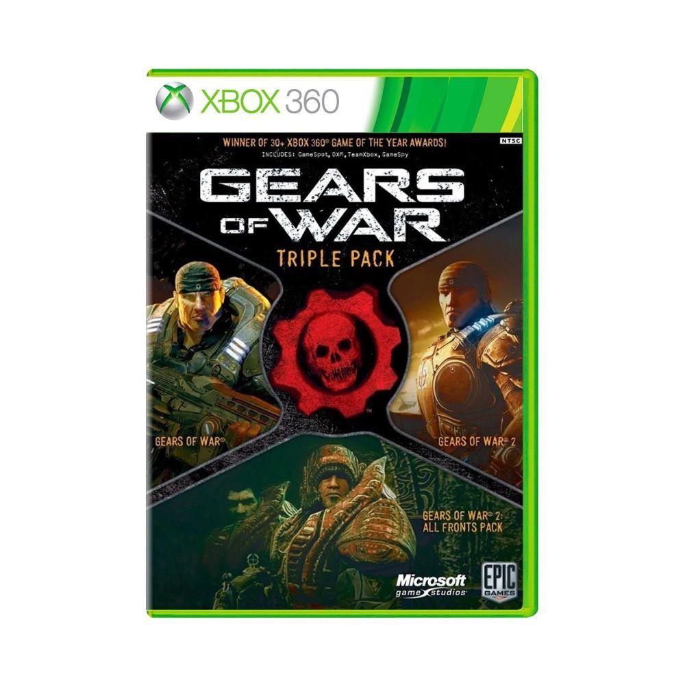 Jogo Gears of War Triple Pack - Xbox 360
