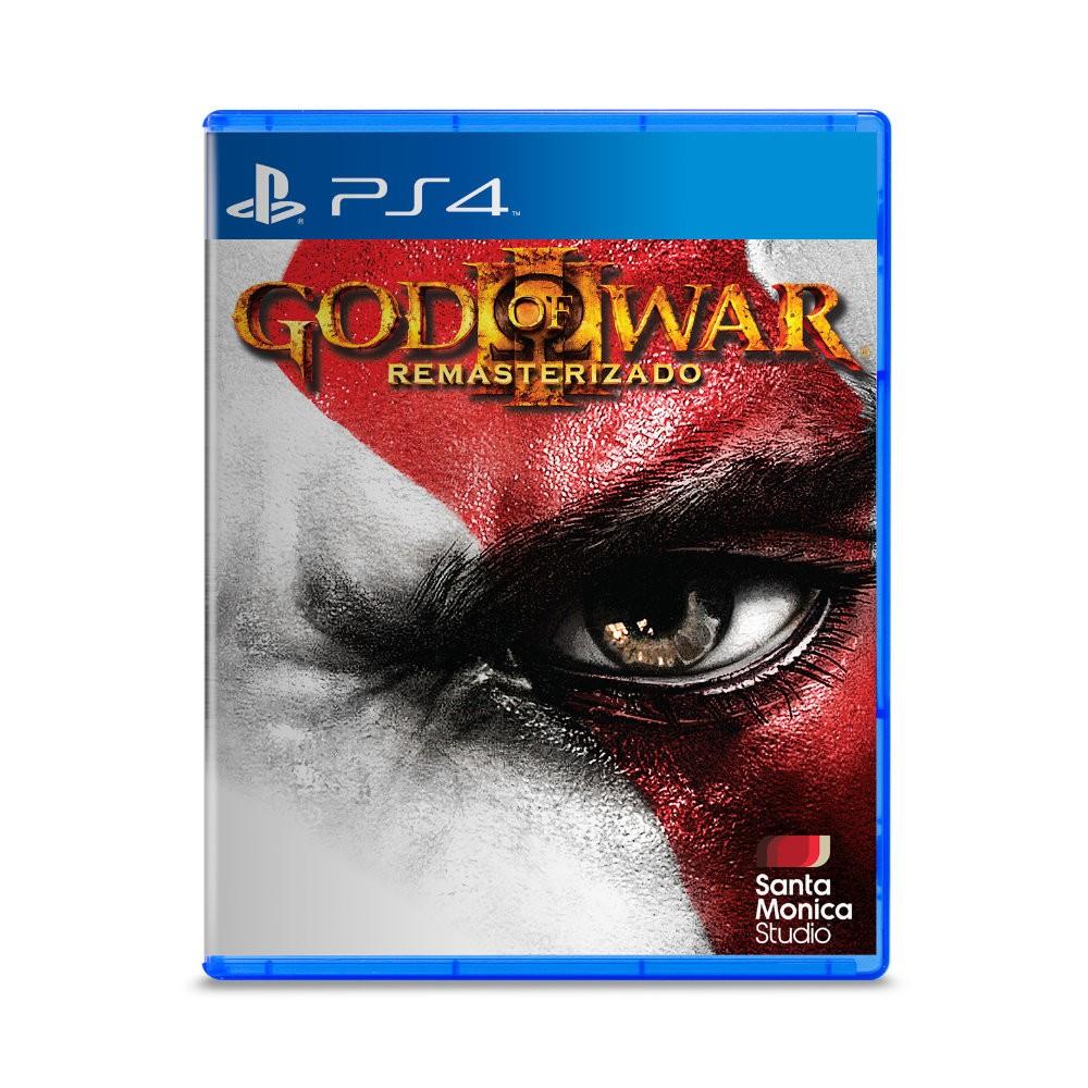 Jogo God of War 3 Remasterizado - PS4