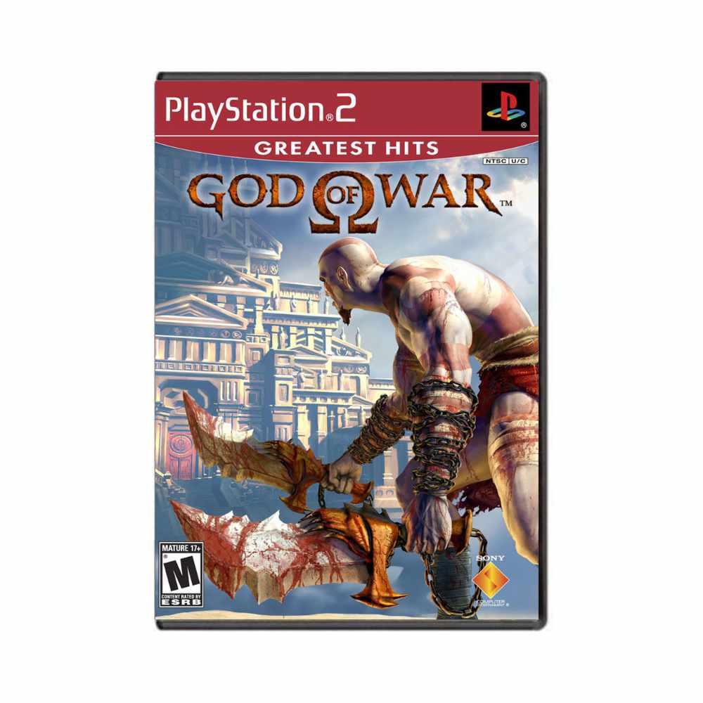 Jogo God of War Greatest Hits - PS2