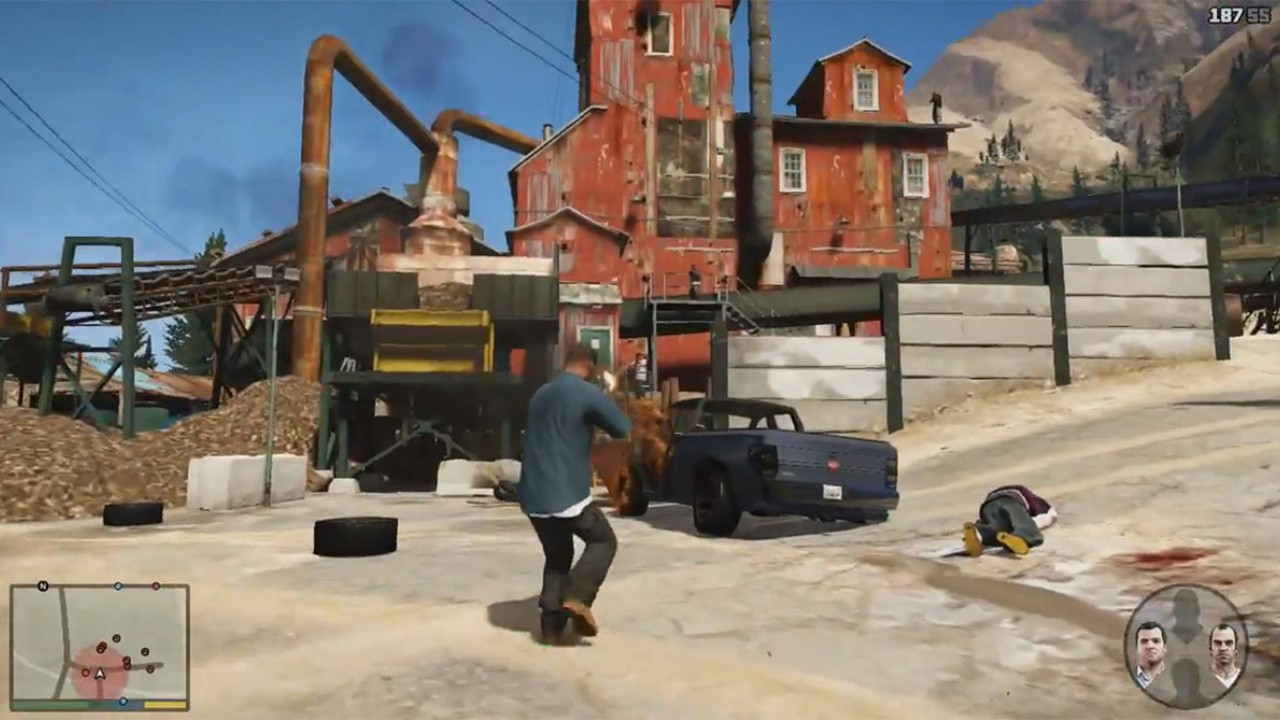 Jogo Grand Theft Auto V GTA Premium Edition - PS4