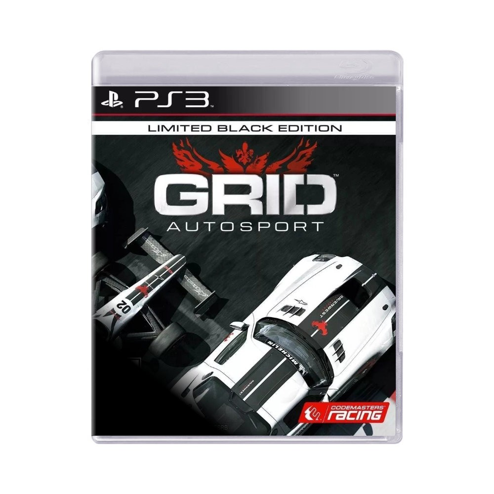 Jogo GRID Auto Sport Black Edition - PS3