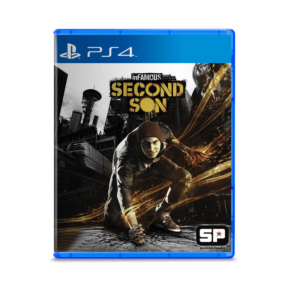 Jogo Infamous Second Son Playstation Hits - PS4