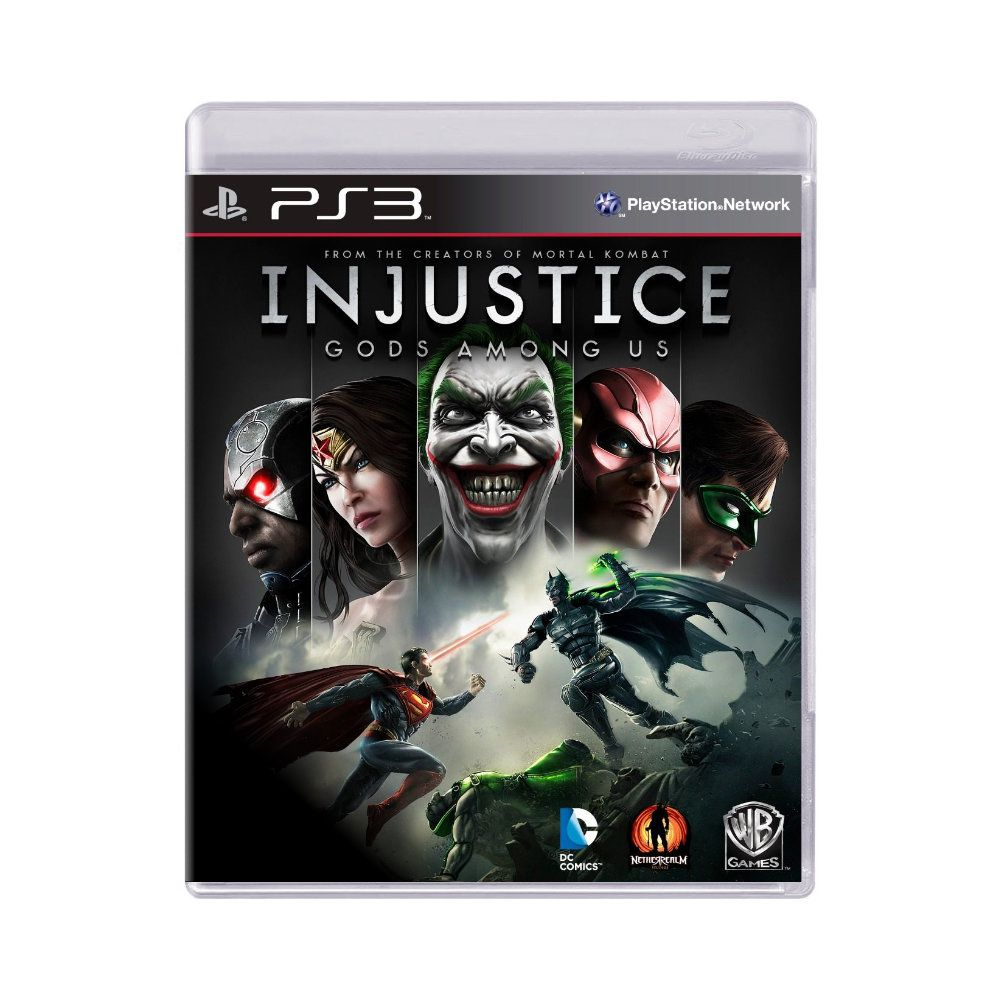 Jogo Injustice Gods Amoung Us - PS3