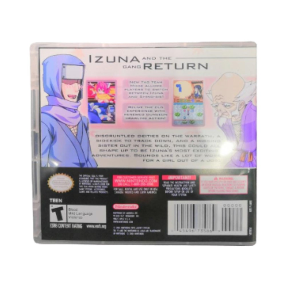 Jogo Izuna 2 The Unemployed Ninja Returns - 3DS