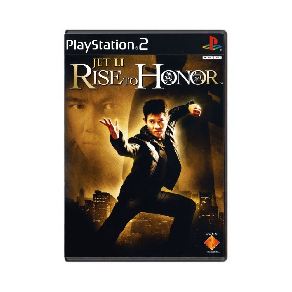 Jogo Jet Li Rise of Honor - PS2