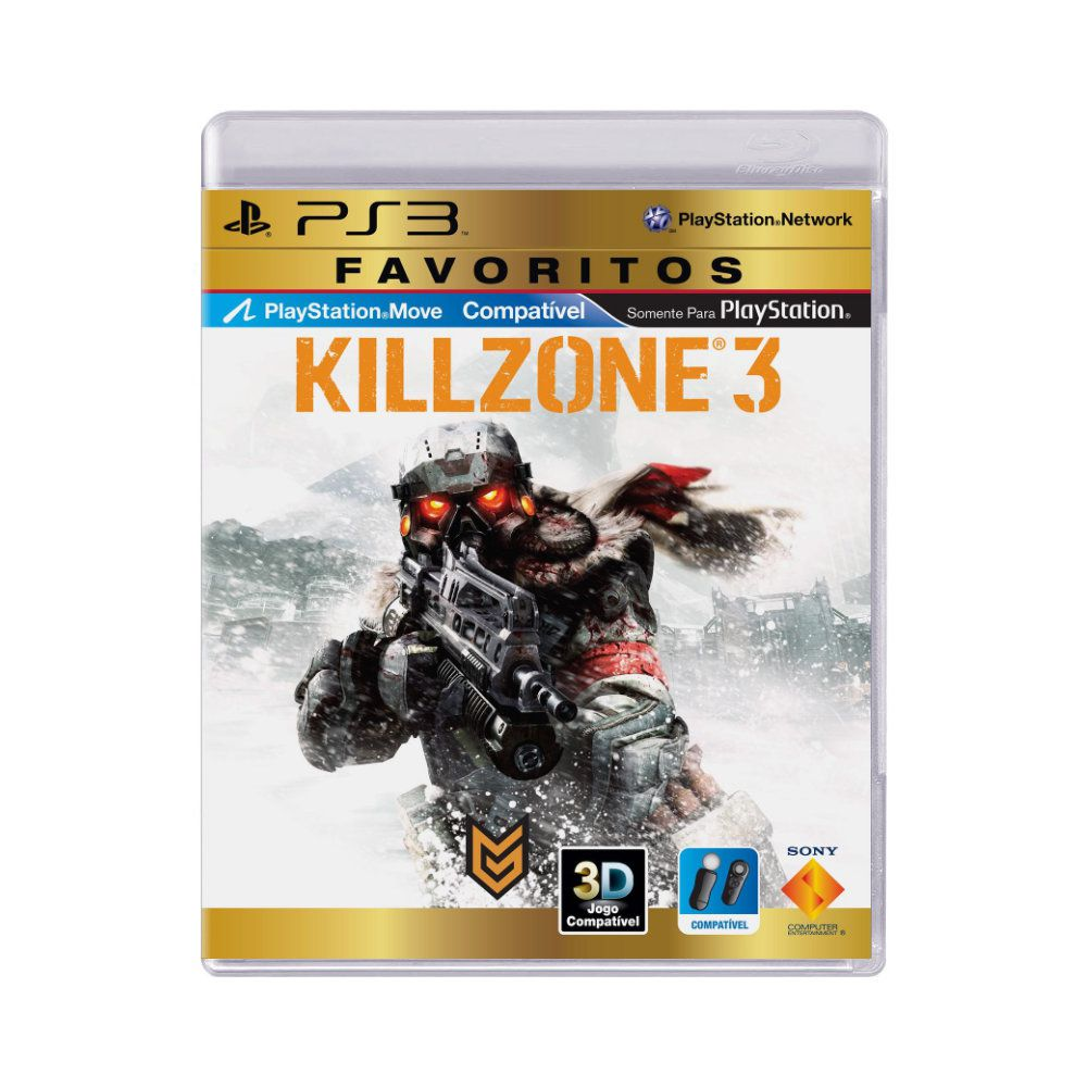 Jogo Killzone 3 Favoritos - PS3