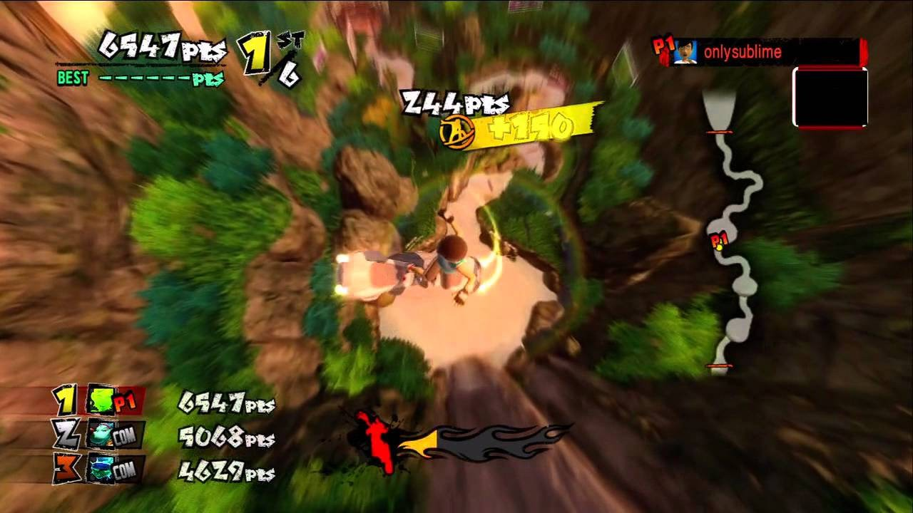 Jogo Kinect Adrenalin Misfits - Xbox 360