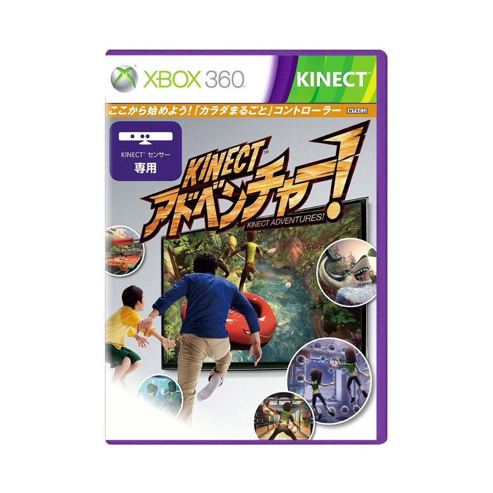 Jogo Kinect Adventures Capa Japonesa - Xbox 360