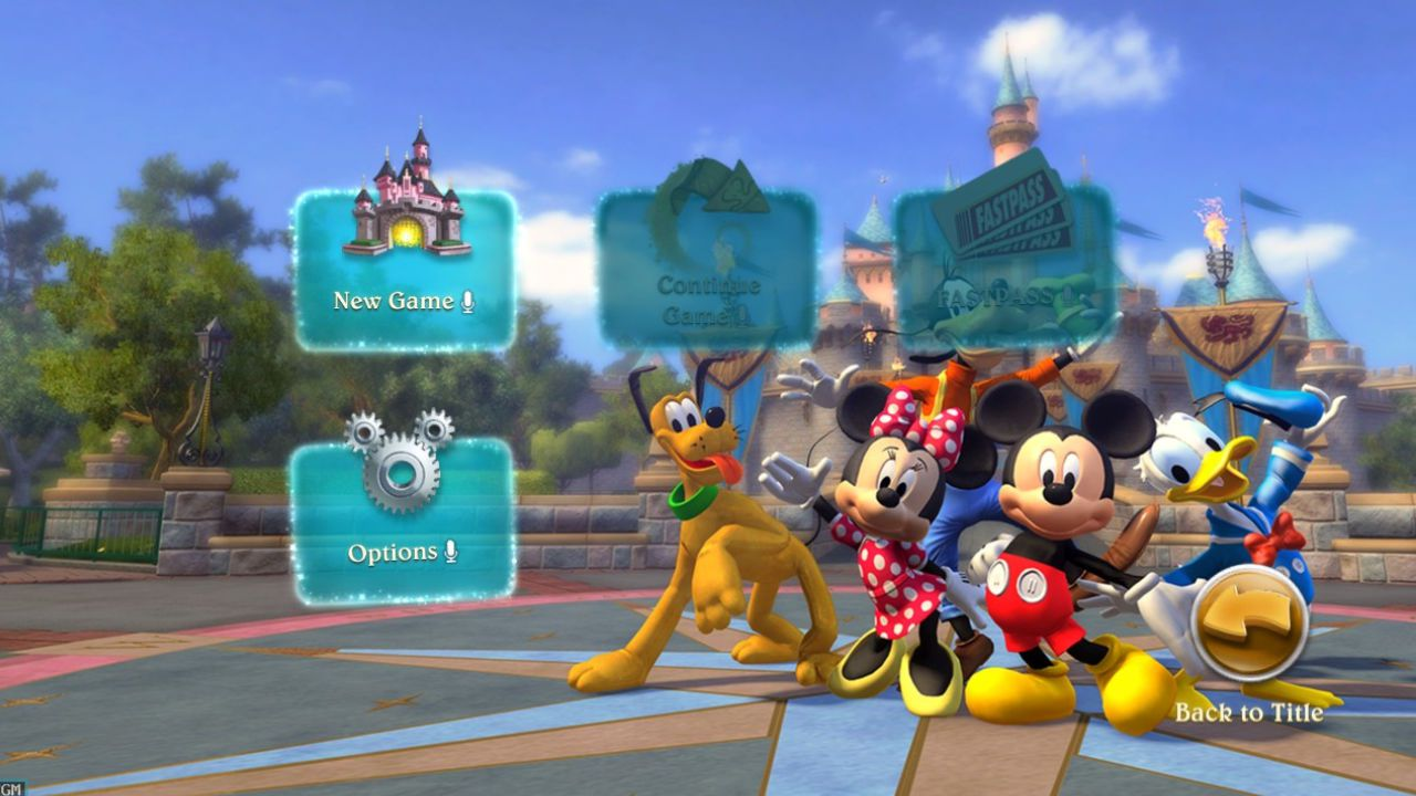 Jogo Kinect Disneyland - Xbox 360