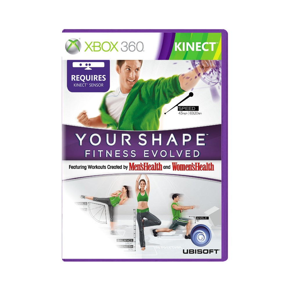 Jogo Kinect Your Shape Fitness Evolved - Xbox 360