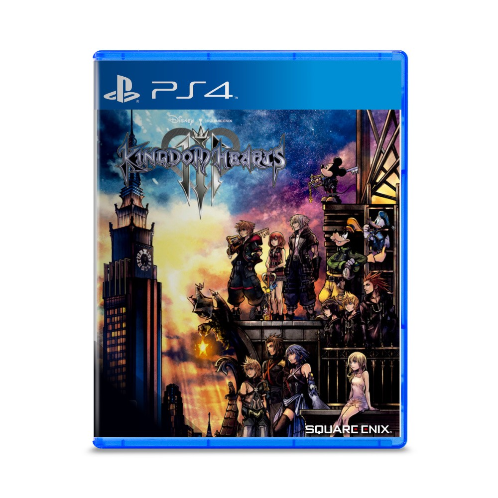 Jogo Kingdom Hearts 3 - PS4