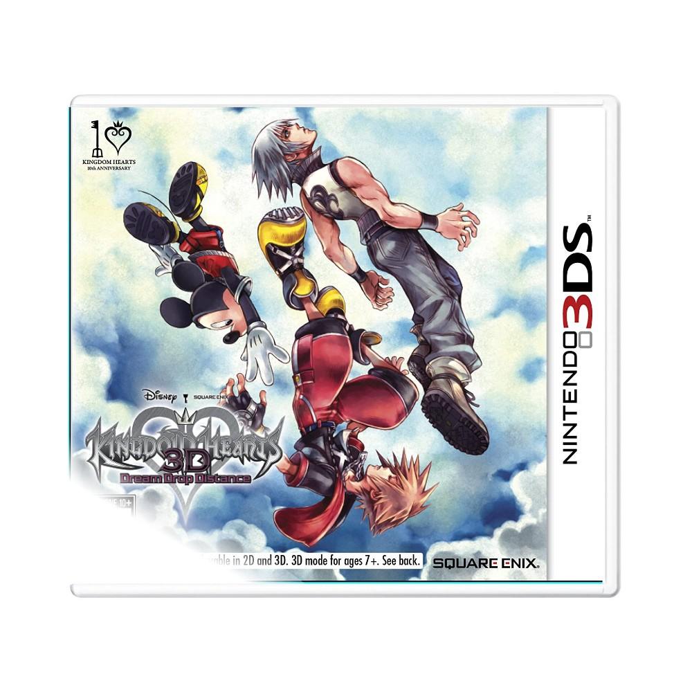 Jogo Kingdom Hearts 3D: Dream Drop Distance - Nintendo 3DS