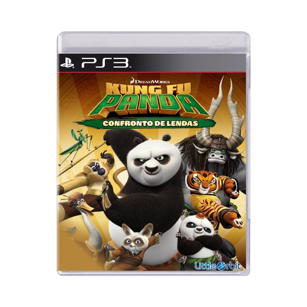 Jogo Kung Fu Panda Confronto de Lendas - PS3