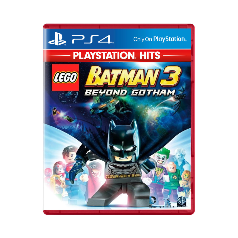 Jogo LEGO Batman 3 Beyond Gotham PlayStation Hits - PS4