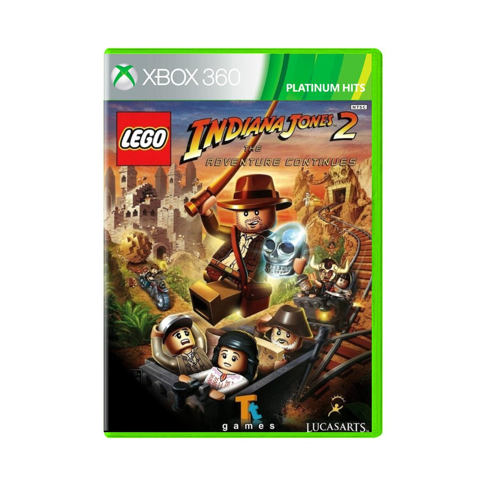 Jogo LEGO Indiana Jones 2 Platinium Hits - Xbox 360