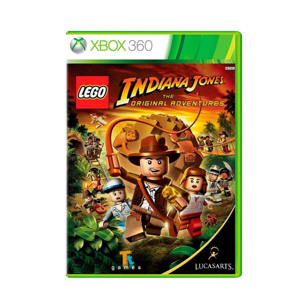 Jogo LEGO Indiana Jones / Kung Fu Panda - Xbox 360