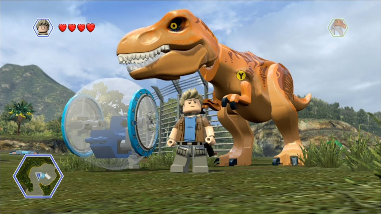 Jogo LEGO Jurassic World PlayStation Hits - PS4