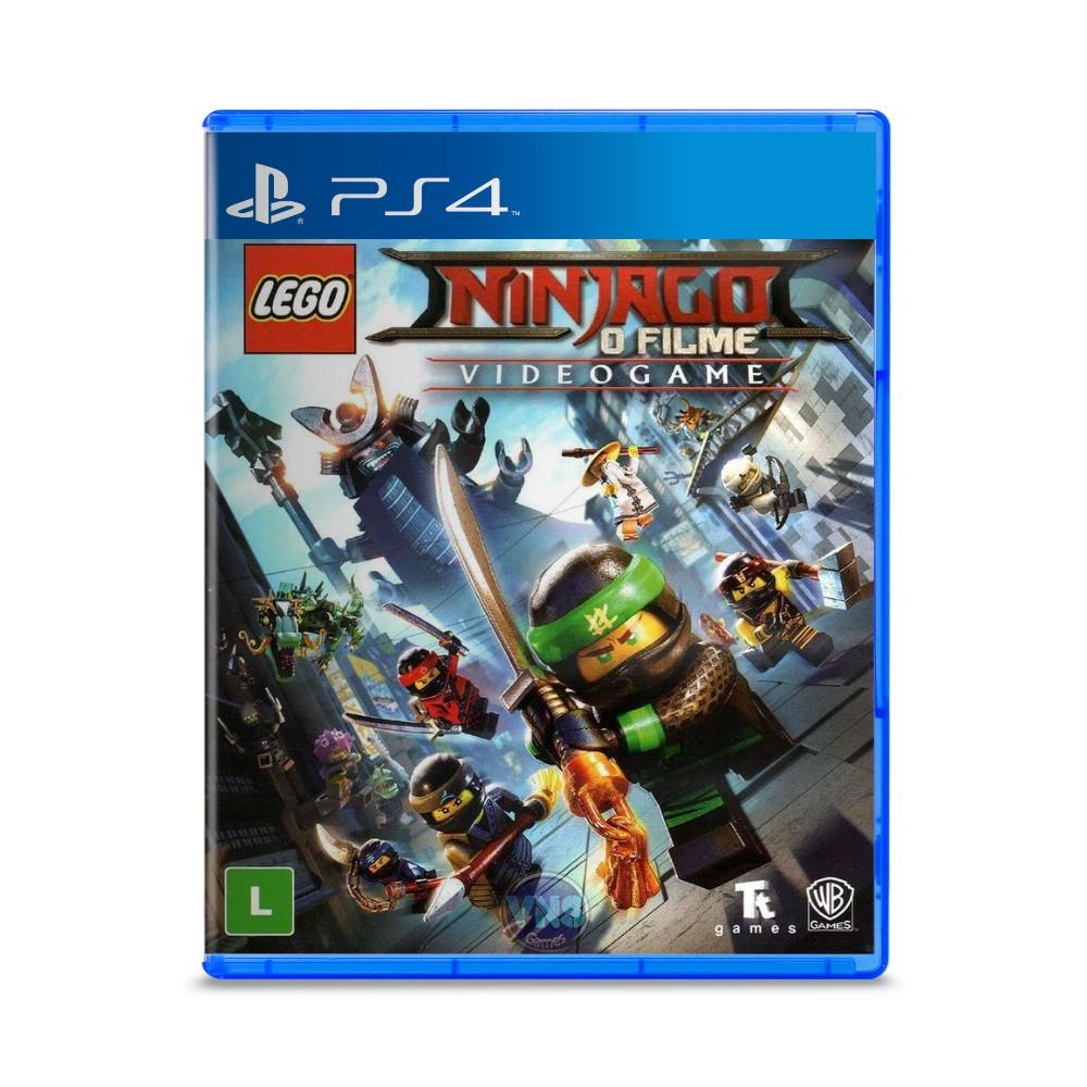Jogo LEGO Ninjago: O Filme The Videogame - PS4