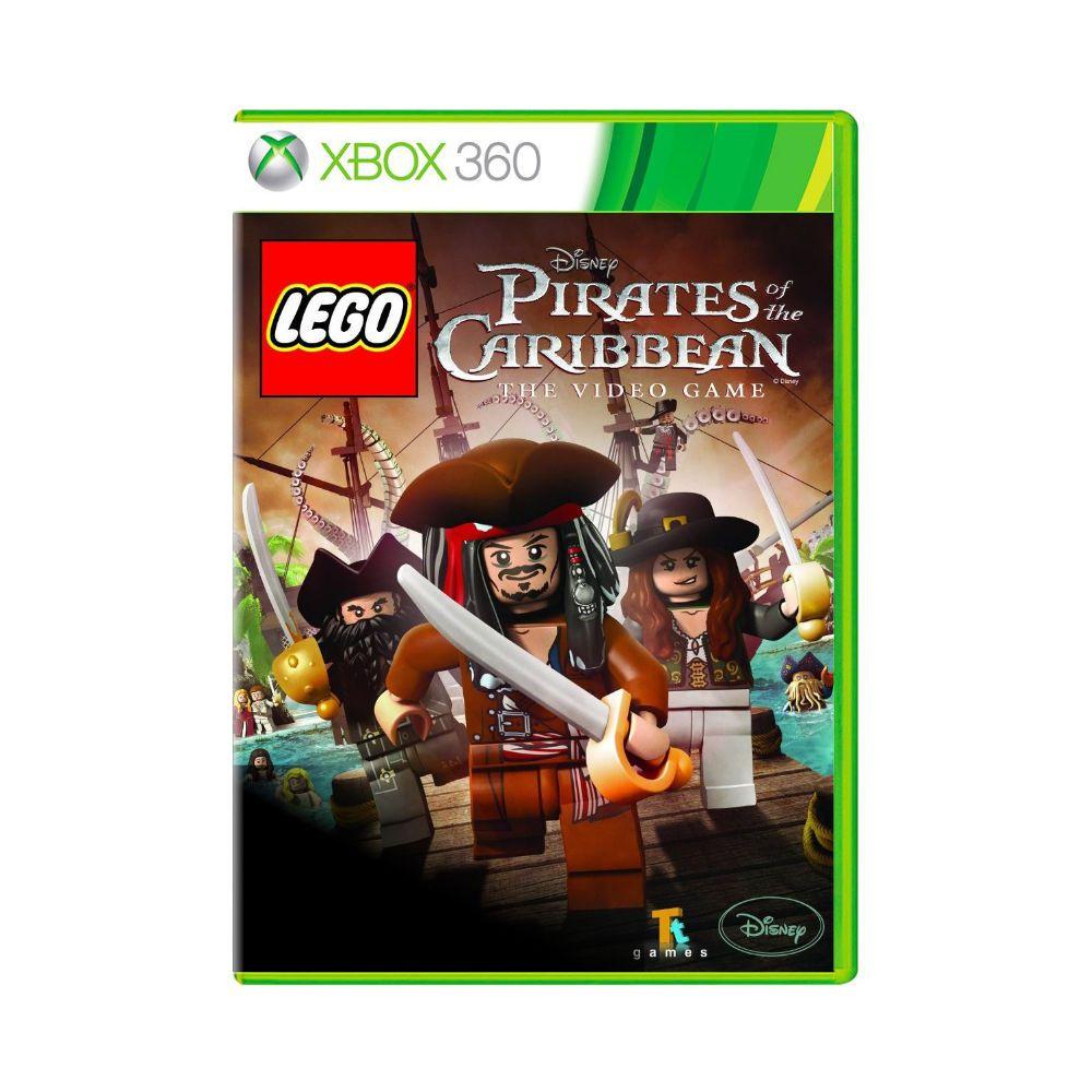 Jogo LEGO Piratas do Caribe - Xbox 360