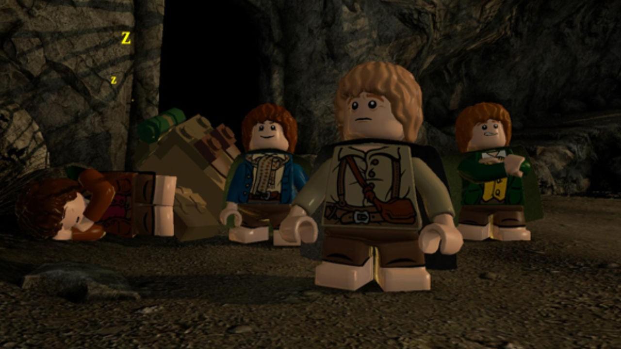 Jogo LEGO Senhor dos Anéis Platinium Hits - Xbox 360