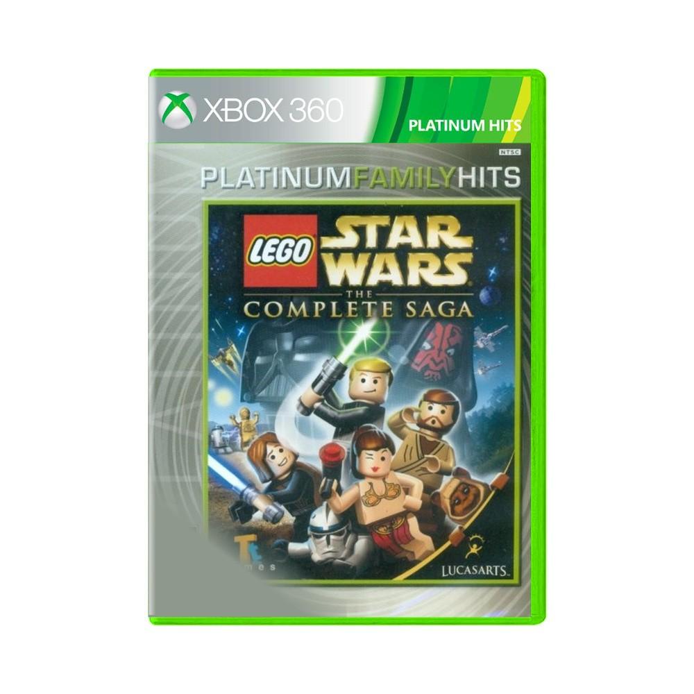 Jogo LEGO Star Wars The Complete Saga Platinum Hits - Xbox 360