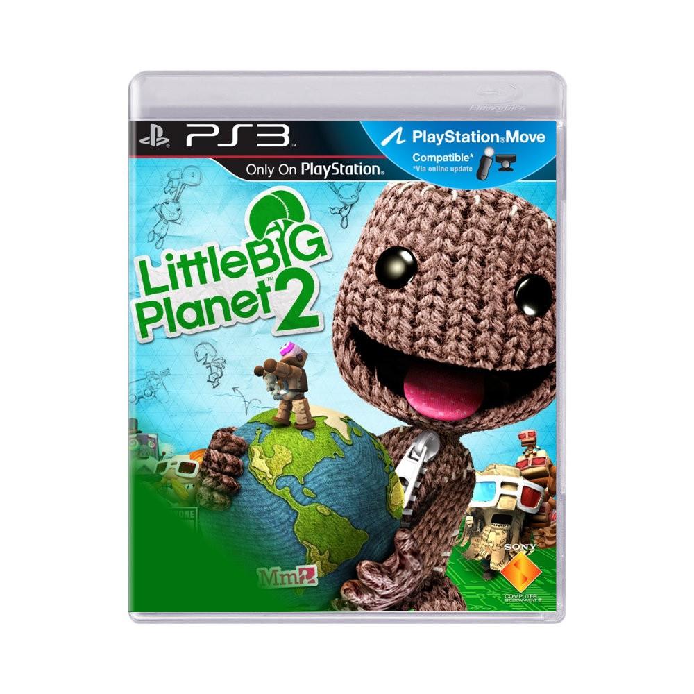 Jogo Little Big Planet 2 - PS3