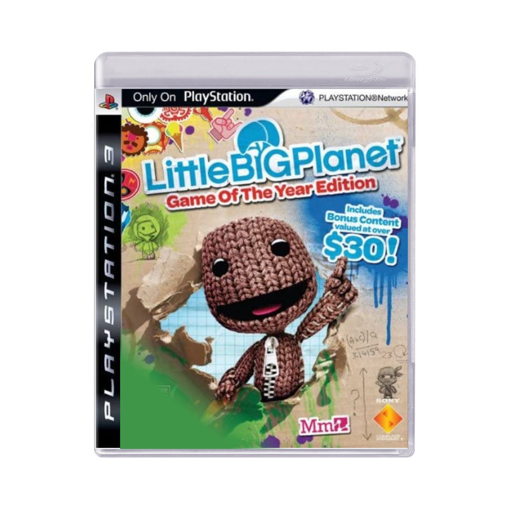 Jogo Little Big Planet Game of the Year Edition - PS3