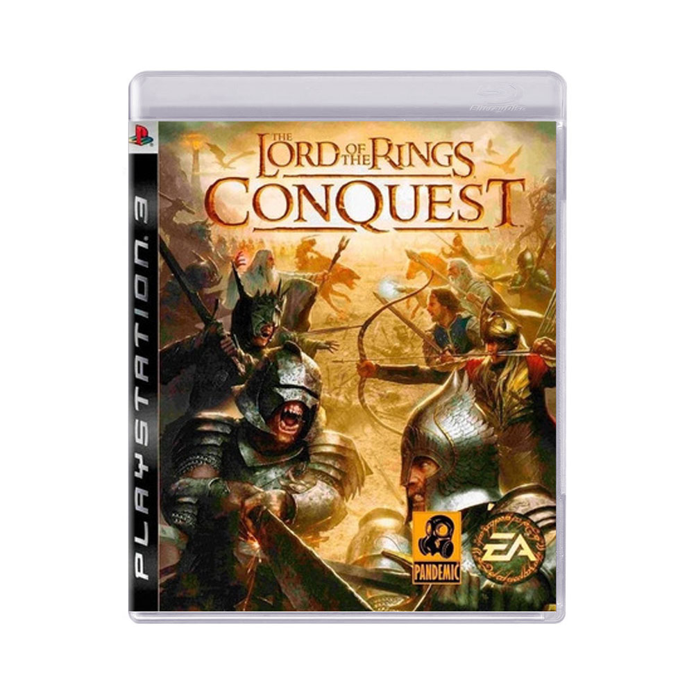 Jogo Lord of the Rings Conquest - PS3
