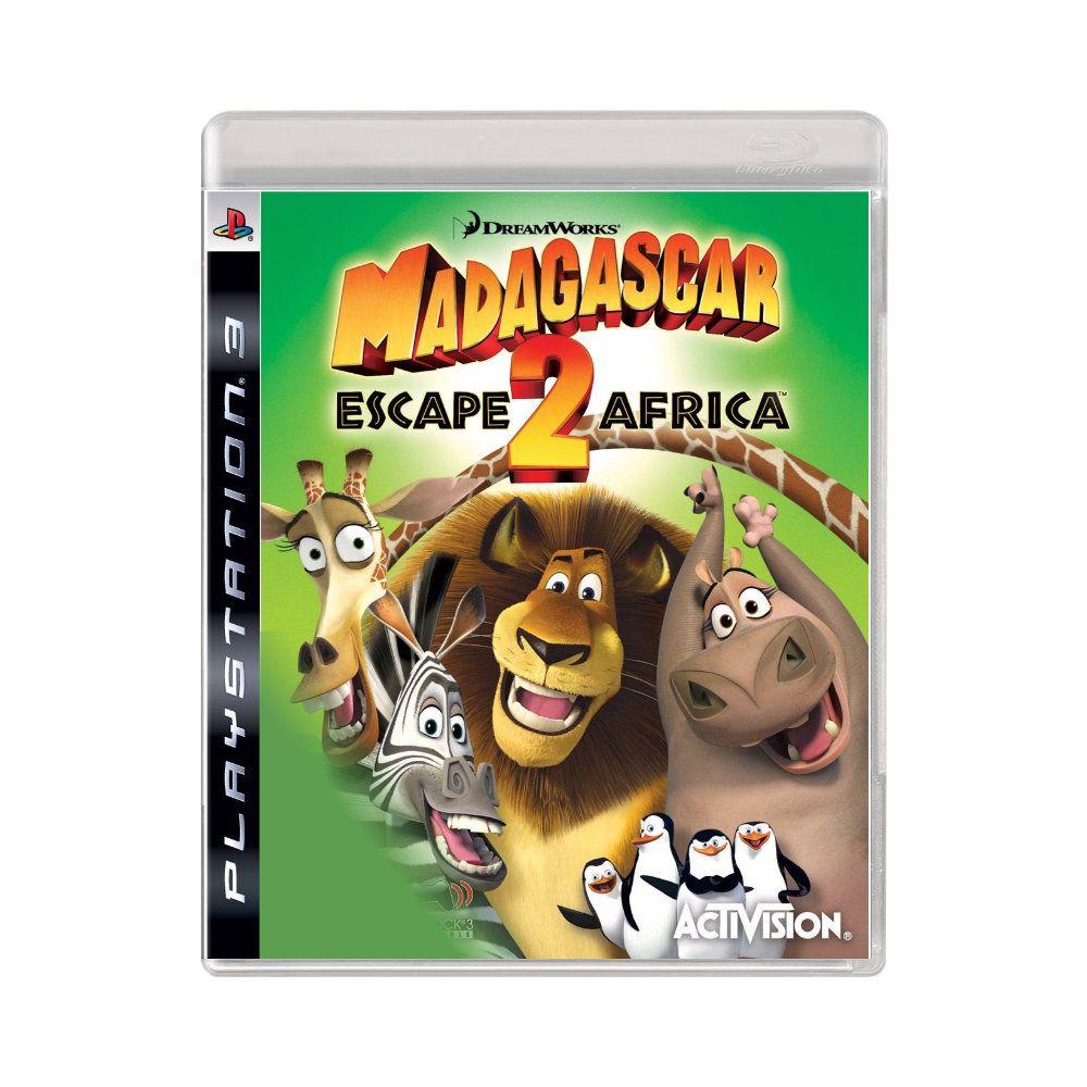 Jogo Madagascar Escape 2 Africa - PS3