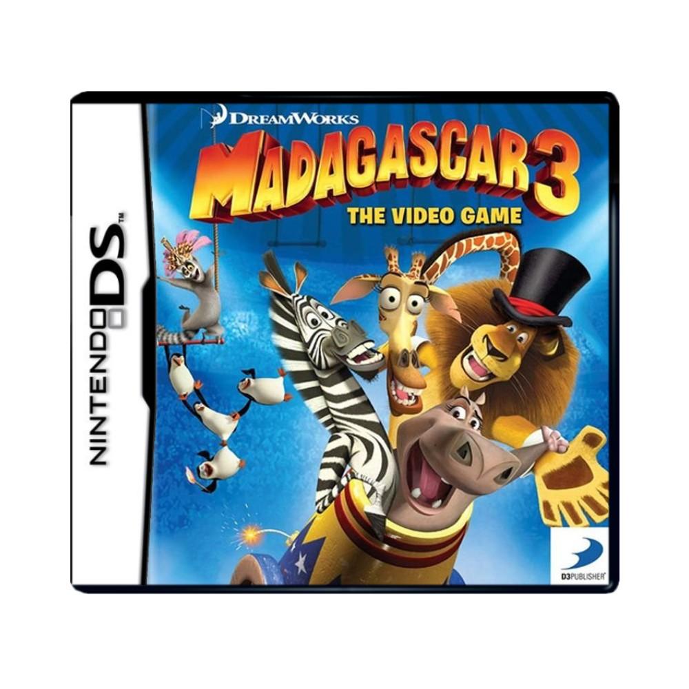 Jogo Madagascar 3 - Nintendo DS