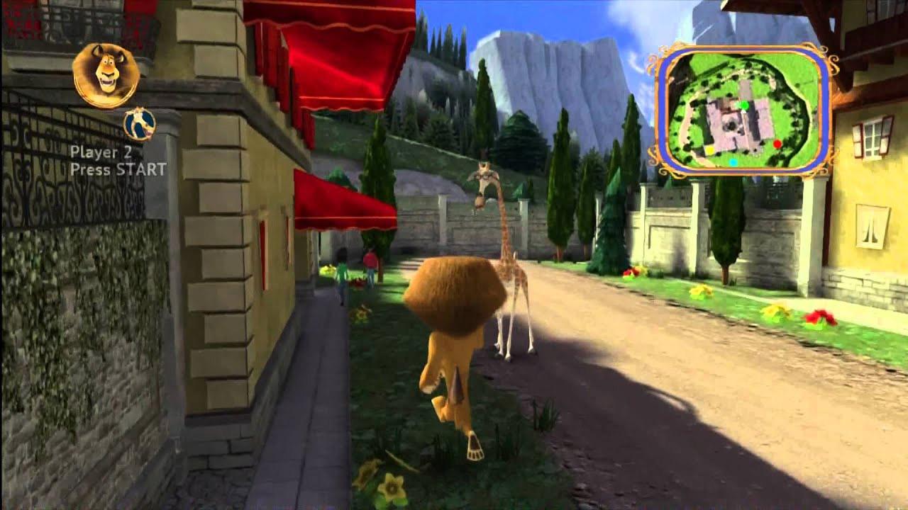 Jogo Madagascar 3 - Xbox 360